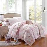 Littlefairy daunendecke,Bedruckte Decke von Baumwolle weiße Ente durch Hochzeitsgeschenk unten Kern verdickt