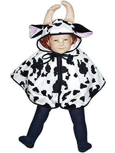 Und Kuschelige Kostüm Kuh Kleinkind Baby - PUS Kuh- Kostüm-e Baby J55 Gr. 74-98, Kat. 3, Achtung: B-Ware Artikel. Bitte Artikelmerkmale lesen! Babies kleine Kind-er Mädchen Junge-n Tier-e Kühe Umhang Fasching- Karneval- Geburtstag- Geschenk-e