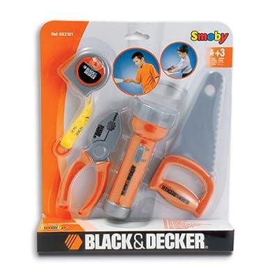 Smoby 23101 - B&D Werkzeugset  mit Taschenlampe