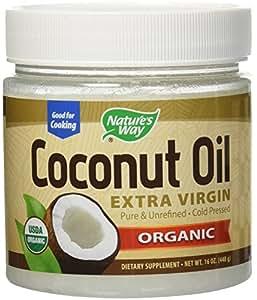 Nature's Way Coconut Oil-Extra Virgin 16 Ounces