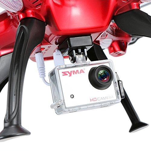 Syma X8HG mit 8.0MP HD Kamera RC Quadrocopter mit Barometer Satz Höhe und Headless Modus - 2