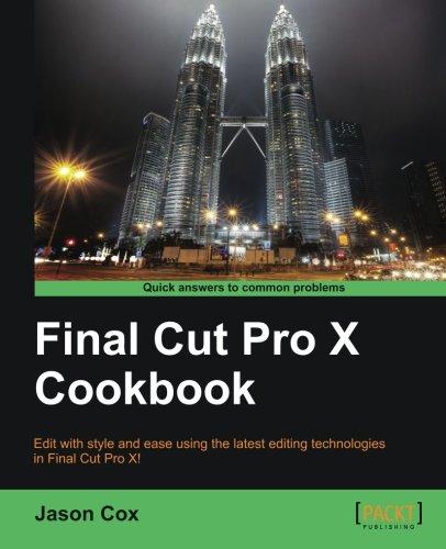 Final Cut Pro X Cookbook thumbnail