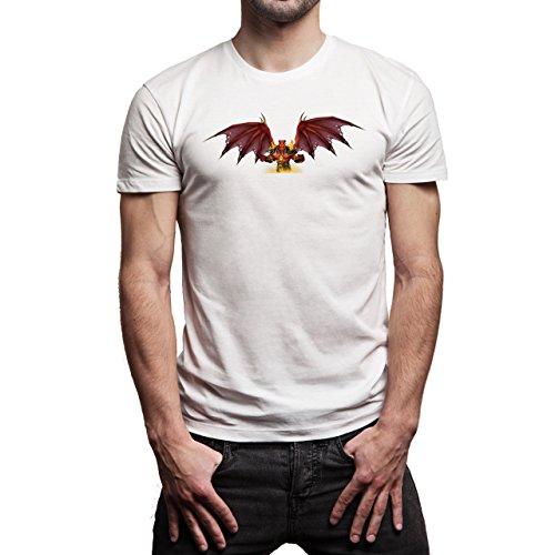 World Of Warcraft Heroes Blizzard Kil'jaeden Herren T-Shirt Weiß
