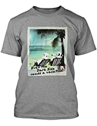 Star Wars Herren Fan T-Shirt - Stormtrooper Vacation Needs Grau meliert