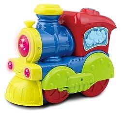 Bump N Go Bubble Blowing Train Machine Toy