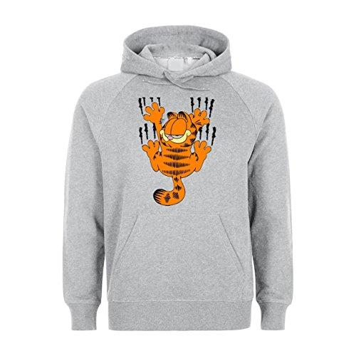 Garfield Scratching With His Nails Medium Unisex Hoodie