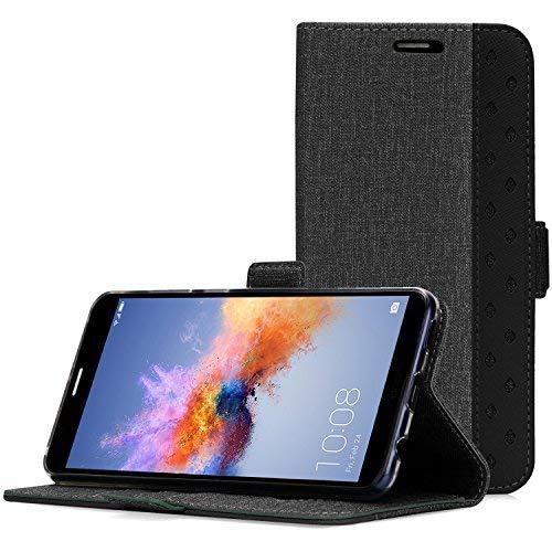 Huawei Honor 7X Hülle, ProCase Folio Falten Wallet Case Flip Cover Schutzhülle für 5.93