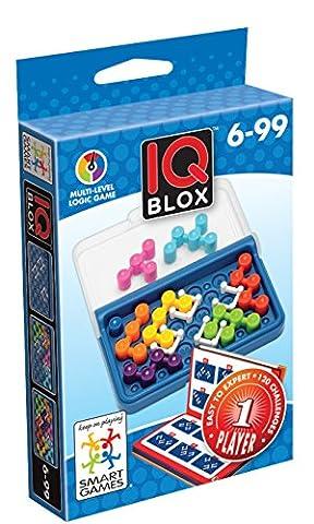 Smartgames - SG 466 - IQ Blox - Jeu de Réflexion de Logique et de Déduction