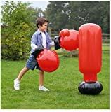 a great toy and great exercise too. Inflatable Boxing Set.