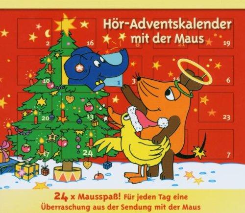 Preisvergleich Produktbild Die Maus - Hör-Adventskalender. 3 CDs: Lachgeschichten mit der Maus