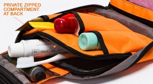 ewfsef Unisex Luxus Faltbar Tasche zum Aufhängen Make-up Tasche Wandern Tasche Turnbeutel Grün