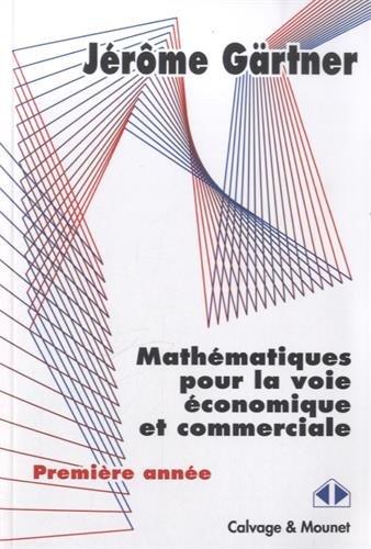 Mathématiques pour la voie économique et commerciale