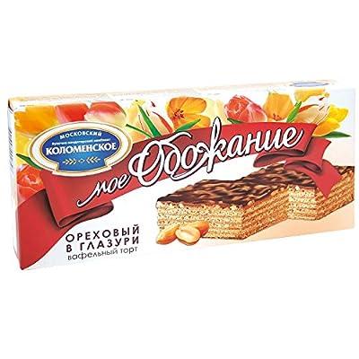 """Waffeltorte """"Moje Oboshanije"""" mit Erdnüssen"""