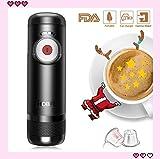 Portable Automatische Espressomaschine kocht Wasser 15 Bars Druck One-Button-Bedienung Travel Outdoor-Kaffeemaschine