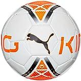 PUMA Ball King Graphic - Balón de fútbol de ocio, color blanco, talla 5
