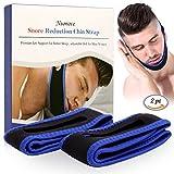 Kinnriemen zur Schnarchreduzierung, Chin Strap Anti Schnarchen,Schnarchen Lösung Stop Schnarchen Kinnriemen für Mund Breathers (2PC)