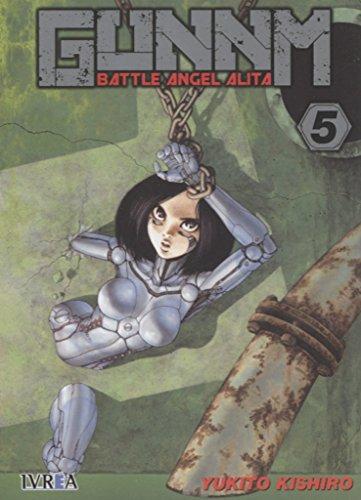 Gunnm Battle Angel Alita 05 por Kishiro Y