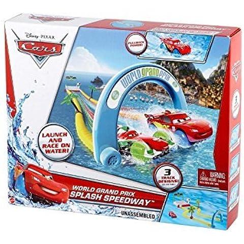 Cars World Grand Prix Splash Speedway Track Set by Mattel