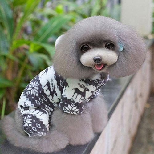 dingang Warm Soft Pet Hoodie Hund Winter Coat Kostüme Puppy Katze Jumpsuit Kleidung Jacke (Lulu Kostüme)