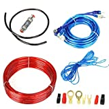 Autotrends 1500W Car Audio Subwoofer Sub Amplifier AMP Wiring Kit Cable 8GA Gauge 60A