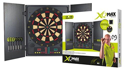XQ-Max Michael Van Gerwen Elektronisches Dartboardset Cbx-180 Premiere Edition, Mehrfarbig, 1