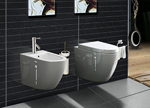 Wand hänge WC inkl. Bidet mit softclose WC Sitz