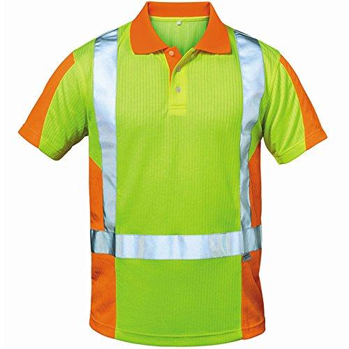 Preisvergleich Produktbild Elysee Warnschutz Polo-Shirt Zwolle Größe, 1 Stück, XL, gelb/orange, 22725-XL