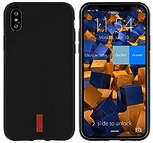 mumbi Coque compatible avec iPhone X / XS Cas de téléphone portable, sombre