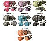 Mintgrün -Pentagram Geocaching Brusttasche, Wimmerl, Bauchtasche, Gürteltasche, mit Platz für GPS, Handy und Werkzeug, Mutlitool usw.