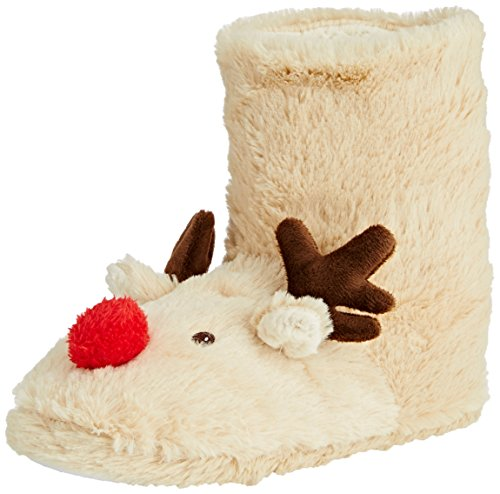 Spot On Reindeer Bootie,  bianco grezzo (panna) S