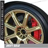 E-Tech DRIFT Gold Chip Resistant Alloy Wheel Paint 400ml