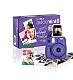 Instax Mini 8 Camera with 10 Shots - Grape