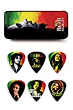 6 médiators dur Bob Marley