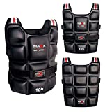 New Maxx adjustable Weighted Jacket Vest for training running & Fitness 10kg, 12kg ,1412 (14kg)