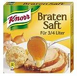 Knorr Bratensaft Würfel, für 3/4 Liter - 75gr - 4x