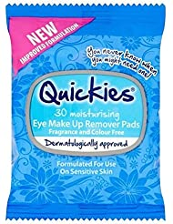 Quickies Yeux Tampons Démaquillants Make-Up 30 Par Paquet