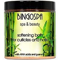 BINGOSPA spa & beauty Bagno mani e unghie, Rimuovi cuticole, Ammorbidente per cuticole, per cuticole e unghie, Manicure…