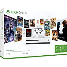 Xbox One S 1TB Konsole - Starter Bundle inkl. 3 Monate Xbox Game Pass + 3 Monate Live Gold Mitgliedschaft