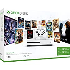 Xbox One S 1TB Konsole - Starter Bundle inkl. 3 Monate Xbox Game Pass + 3 Monate Live Gold Mitgliedschaft