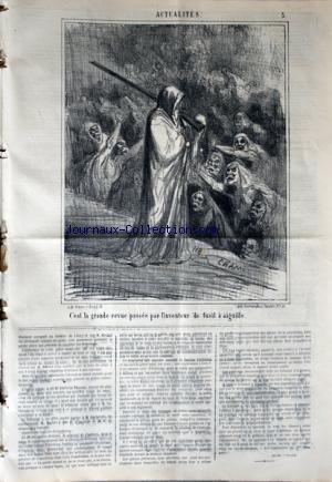 CHARIVARI (LE) du 09/03/1868 - LA SEMAINE DE LA BOURSE -