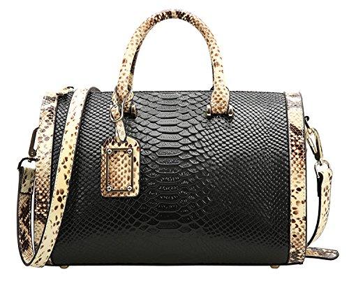 saierlong-womens-embossing-black-cowhide-genuine-leather-messenger-bag-handbag-shoulder-bag