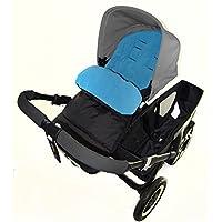 Saco/Cosy Toes Compatible con Nuna Ivvi carrito de bebé, color azul