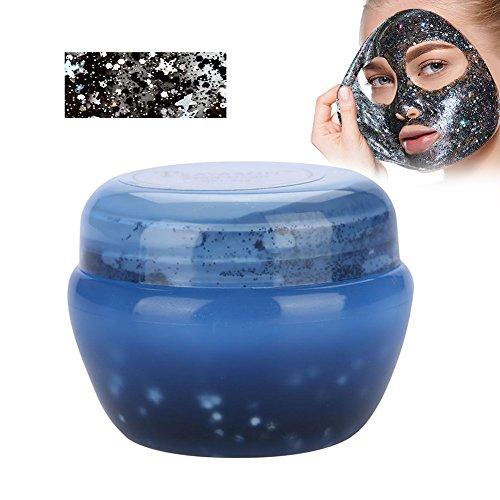 enhimmel Glow Glitter Pailletten Maske Peel off Feuchtigkeitsspendende Maske Gesichtspflege(Blau) ()