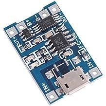 VKLSVAN 1A 5V 18650 micro USB batería de litio de Cargador de protección módulo