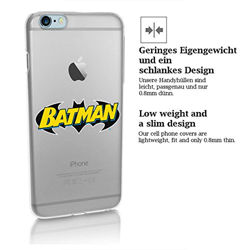 "finoo | iPhone 7 Hard Case Handy-Hülle ""Batman"" Motiv 