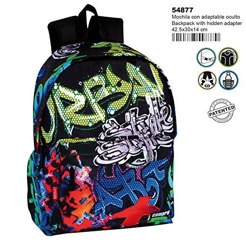 Montichelvo Montichelvo Backpack A.O. CMP Freestyle Schulranzen, 43 cm, Mehrfarbig (Multicolour)