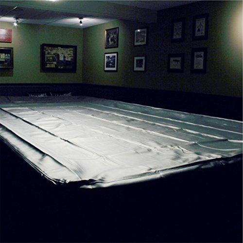 Spartan Heavy Duty wasserabweisend Snooker Tischabdeckung-10ft Schwarz