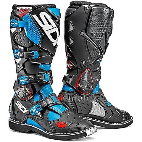 Sidi Crossfire 2 luce blu/nero-speciale ordine Moto Boot