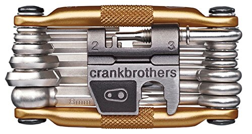 Crank Brothers Multi-19 Tool, Gold (Top Alien 2 Peak)