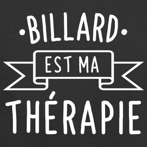 Le billard est ma thérapie - Femme T-Shirt - 14 couleur Noir